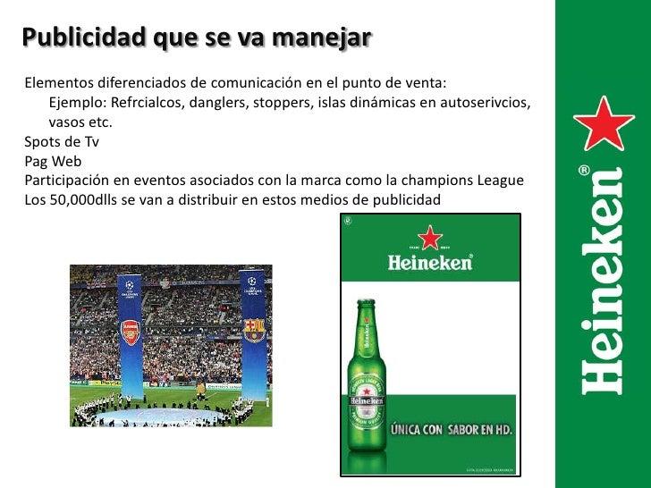 diseño de campaña publicitaria cerveza henneken