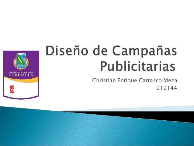 diseño de campañas publicitarias (afiliados)