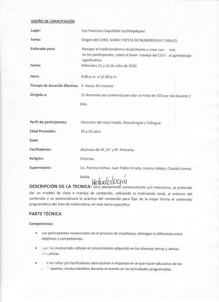 pr$EÑo pE cAPActrA0ÓN   Lugar:                              San Francisco Zapotitlán Suchitepéquez  Tema:                 ...