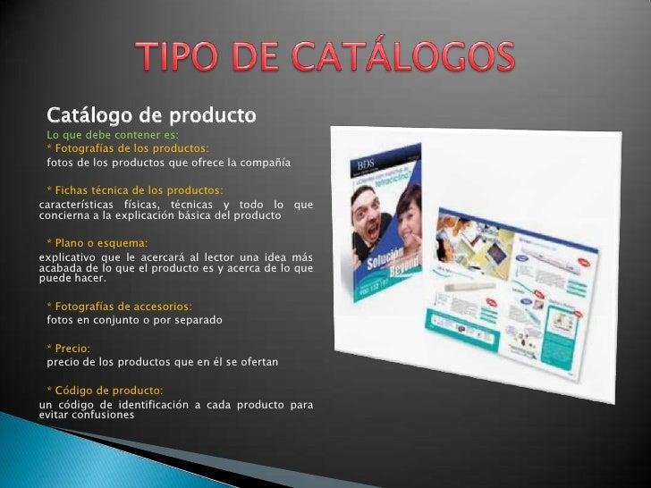 Dise o de cat logos for Modelo de catalogo de productos