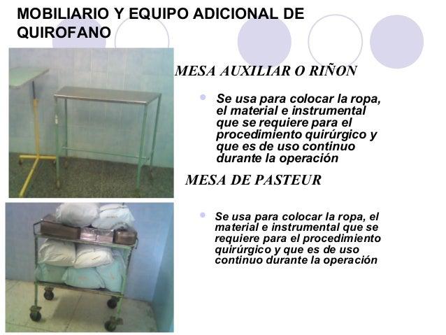 Dise o del centro quirurgico for Que es mobiliario