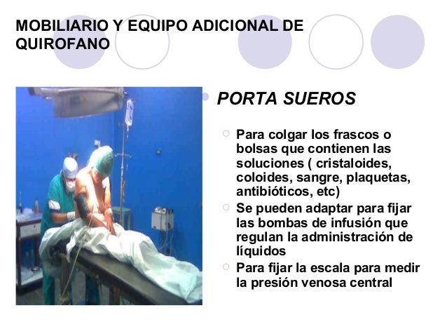 Dise o del centro quirurgico for Mobiliario y equipo