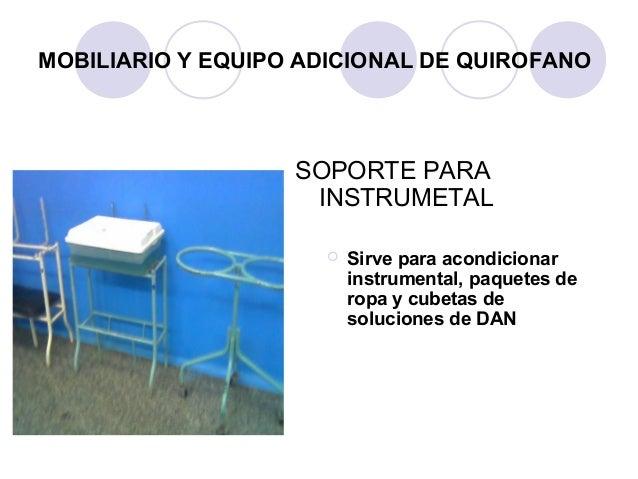 Dise o del centro quirurgico for Definicion de mobiliario