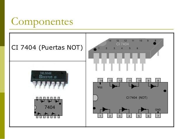 Circuito Integrado 7404 : Ci images diagram writing sample ideas and guide