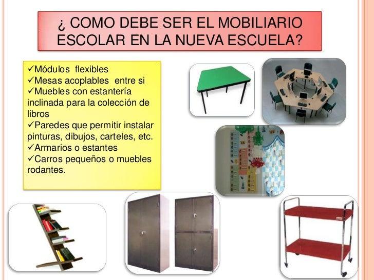 Dise o de clases y mobiliario for Que es mobiliario