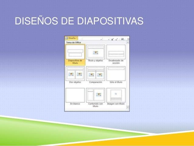 Dise o de diapositivas for Diseno de diapositivas