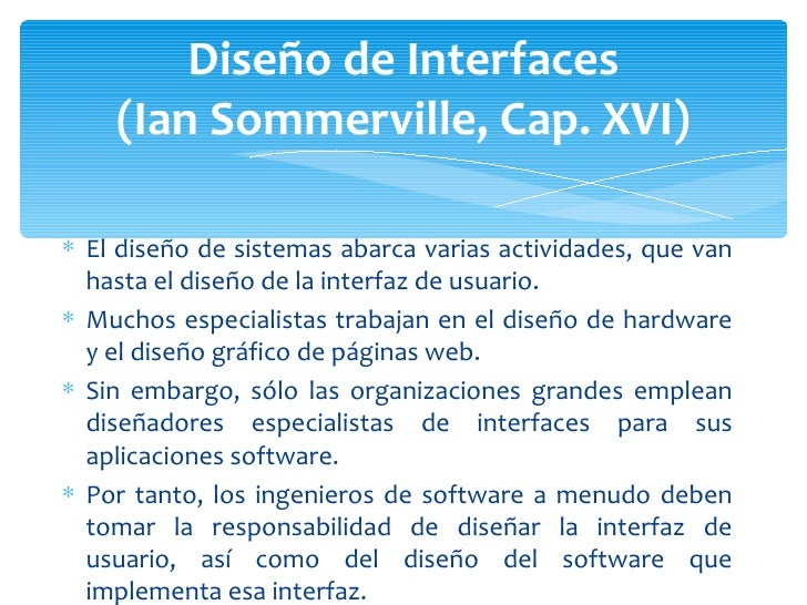 Diseño de interfaces Slide 3