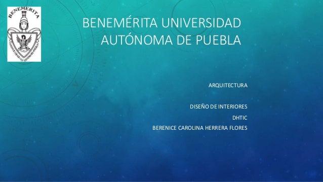 Dise o de interiores diapositivas for Diseno de interiores universidad