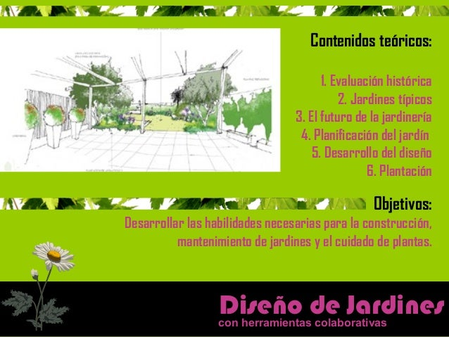 diseño de jardines con herramientas colaborativas