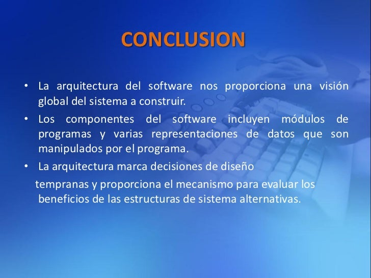 Dise o de la arquitectura del software for Curso arquitectura software