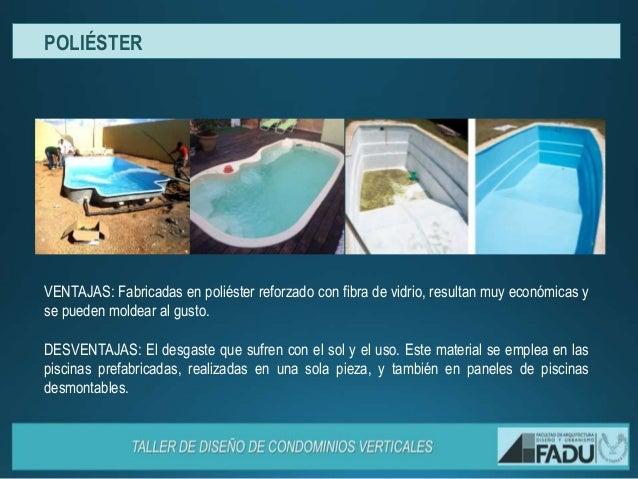 Dise o de piscinas condominios for Piscinas desmontables en ofertas y muy economicas