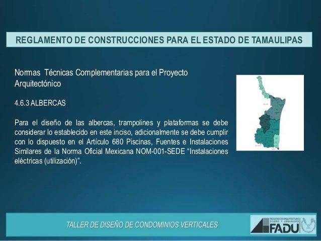 reglamento de para el estado de tamaulipas