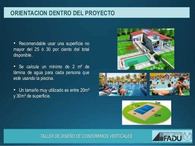 Dise o de piscinas condominios for Que piscina es mejor