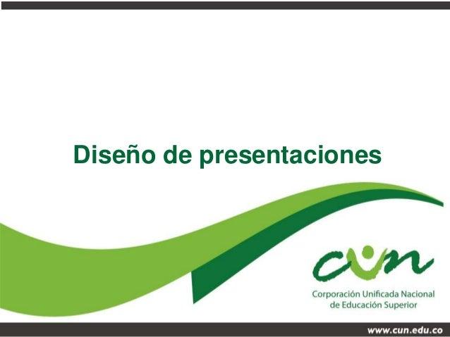 Dise o de presentaciones en powerpoint for Disenos de powerpoint