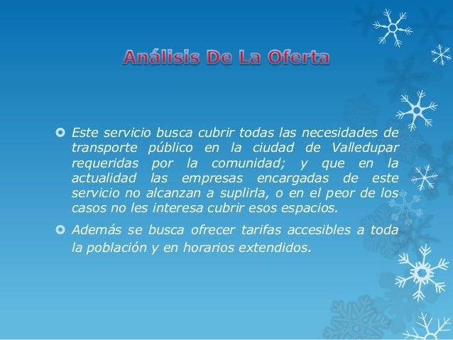  Este servicio busca cubrir todas las necesidades de  transporte público en la ciudad de Valledupar  requeridas por la co...