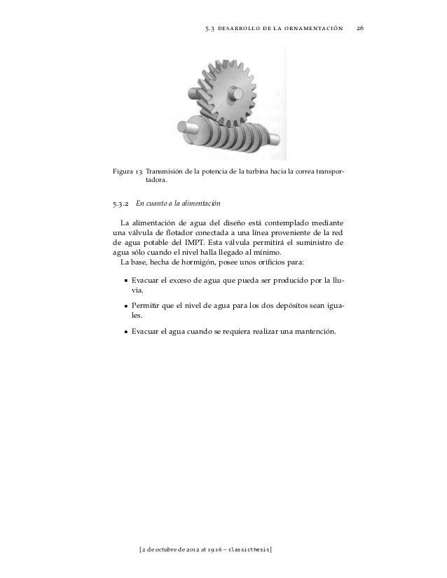 Parte III    ESPECIFICACIONES TÉCNICAS[ 2 de octubre de 2012 at 19:16 – classicthesis ]
