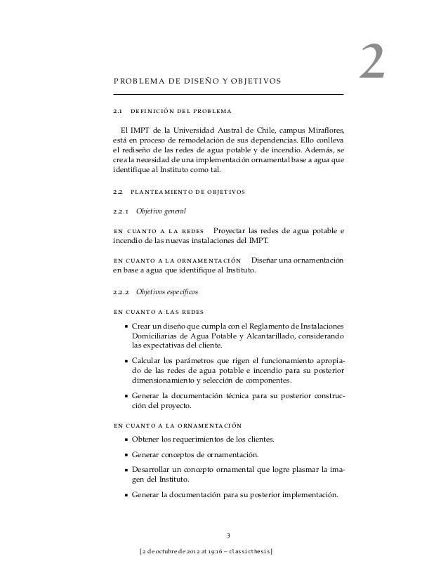 PROBLEMA DE DISEÑO Y OBJETIVOS                                                                      22.1   definición del ...