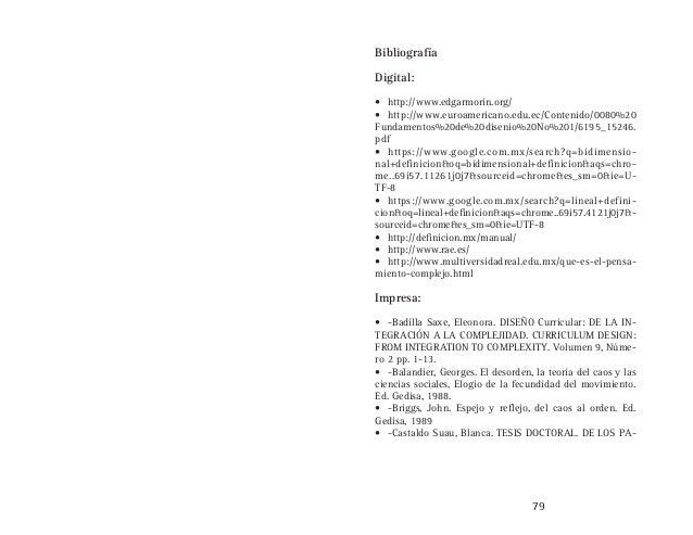 Dise o desde la organizacion compleja for Espejo y reflejo del caos al orden pdf