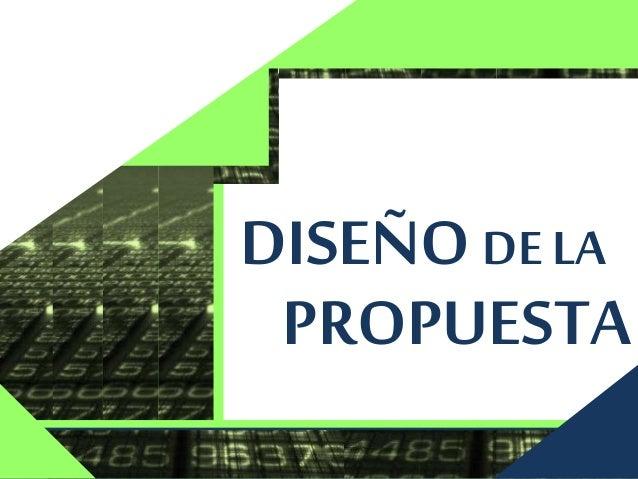 PROPUESTA 1. FundamentaciónTeórica. 2. Objetivos de la Propuesta. 3. Desarrollo de la Propuesta. 4. Fases de la Propuesta....
