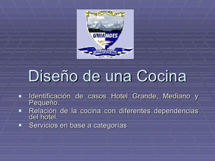 diseo de una cocina de casos hotel grande with diseo cocina