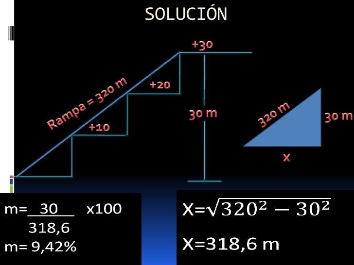 Es la sobreelevación del lado exterior de la curva que seutiliza para contrarrestar la fuerza centrífuga que apareceen las...