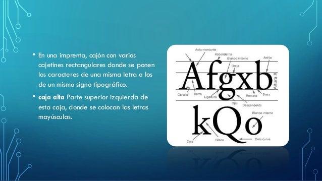 • En una imprenta, cajón con varios cajetines rectangulares donde se ponen los caracteres de una misma letra o los de un m...