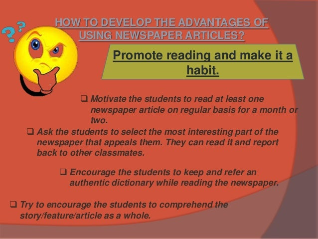 benefit of reading newspaper essay 195 thoughts on  essay on importance of reading  october 17, 2012 hira assalam_o_alaikum thank ur essay have benefit us and my project reply november 29, 2015 mary ann canada.