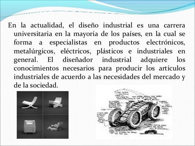Dise o industrial for Carrera de diseno industrial