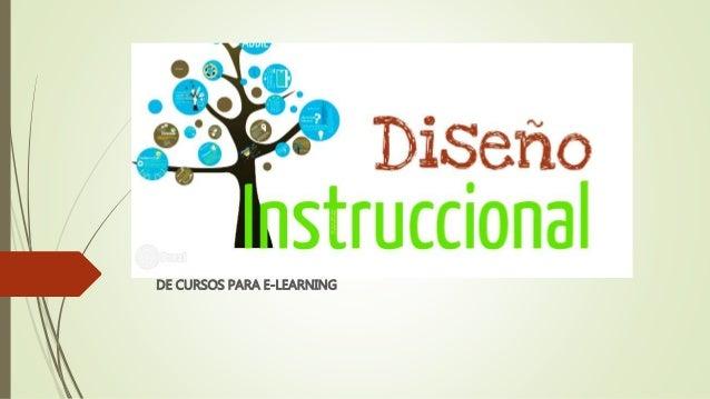 DE CURSOS PARA E-LEARNING