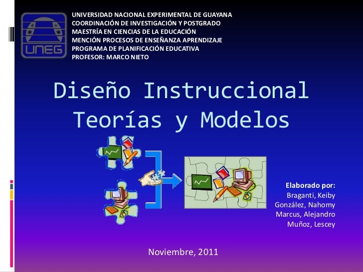 UNIVERSIDAD NACIONAL EXPERIMENTAL DE GUAYANA COORDINACIÓN DE INVESTIGACIÓN Y POSTGRADO MAESTRÍA EN CIENCIAS DE LA EDUCACIÓ...