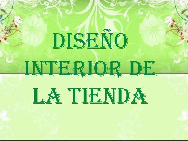 Dise o interior de una tienda for Disenos de interiores para boutique