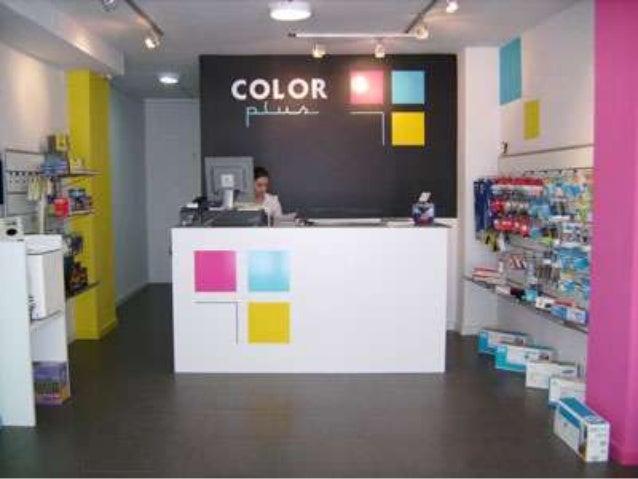 Diseño interior de una tienda