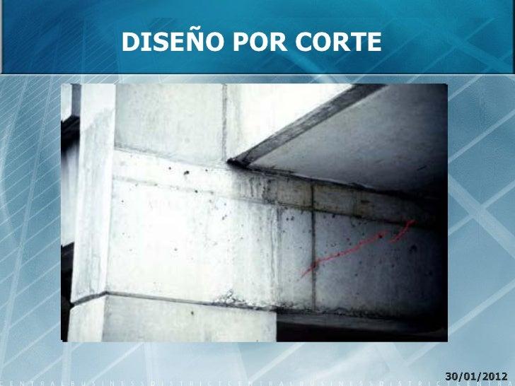 DISEÑO POR CORTE