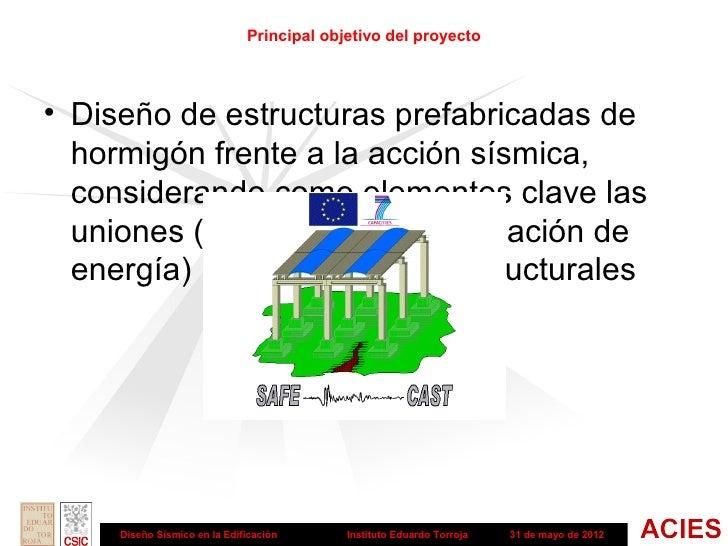 Diseño sismico en edificación - Estructuras con elementos prefabricados de hormigón Slide 2