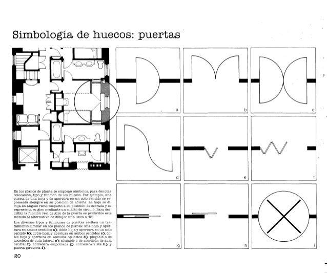 Dise o t cnicas gr ficas para arquitectos y dise adores for Puerta que abre para los dos lados