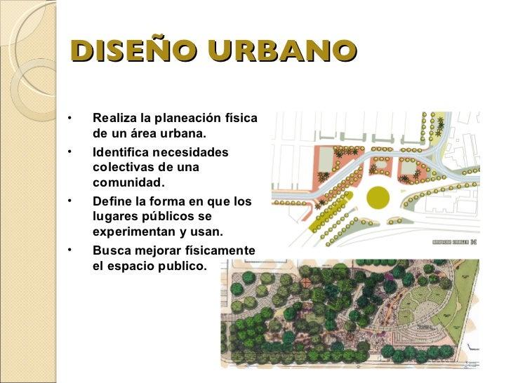 Dise O Urbano
