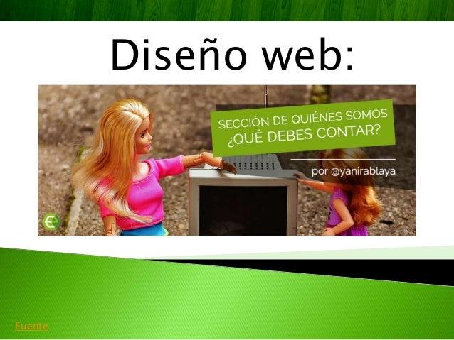 Diseño web: Fuente