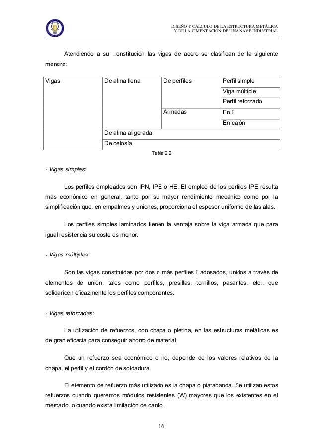 Dise O Y Calculo De La Estructura Metalica Y De La