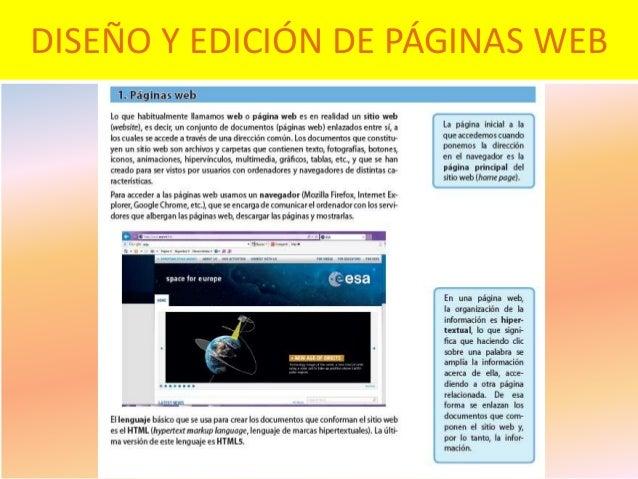 diseo y edicin de pginas web with paginas de y diseo