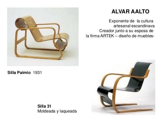 Dise o y equipamiento - Alvar aalto muebles ...