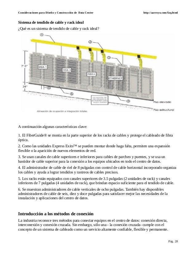 Diseño y normas para data centers