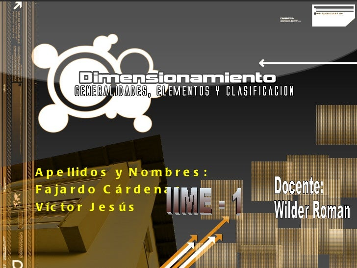 Apellidos y Nombres: Fajardo Cárdenas Víctor Jesús IIME - 1 Docente: Wilder Roman