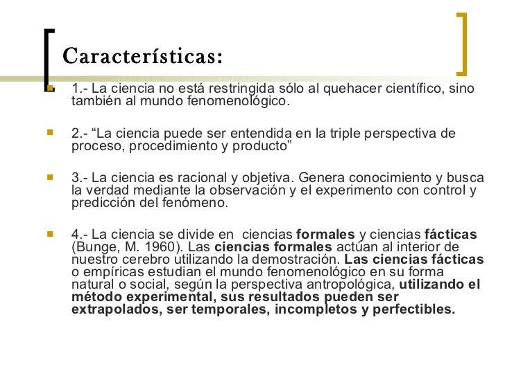 Disertacion la ciencia y su naturaleza epistemológica Slide 3