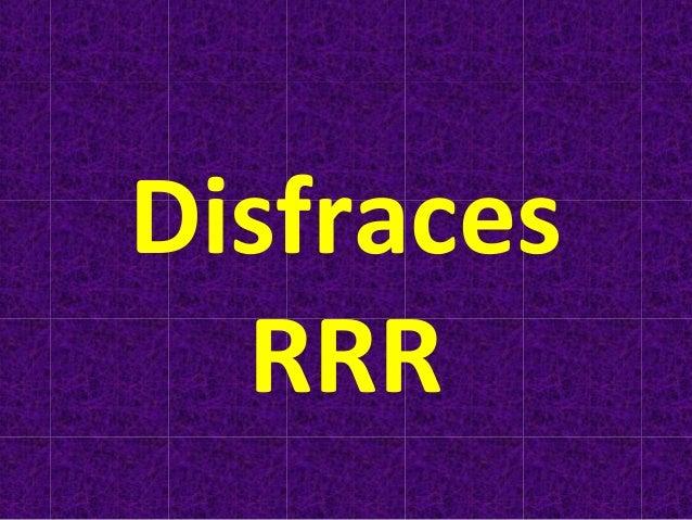 Disfraces RRR