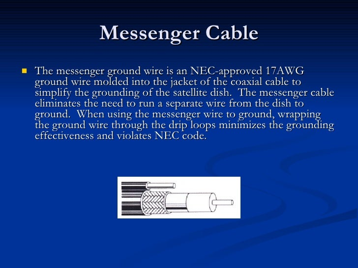 Dish4you system grounding 12 messenger cable greentooth Image collections