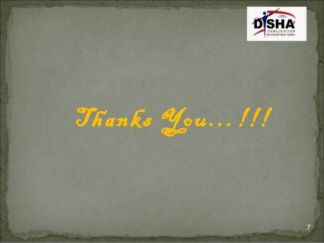 7 Thanks You…!!!