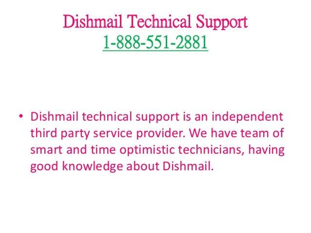Dishmail customer service