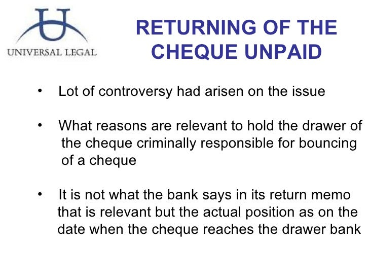 how to stop cheque payment