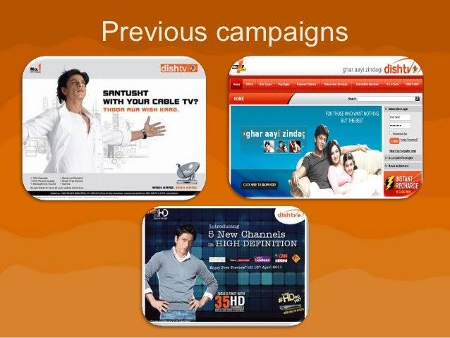 Dish tv campaign