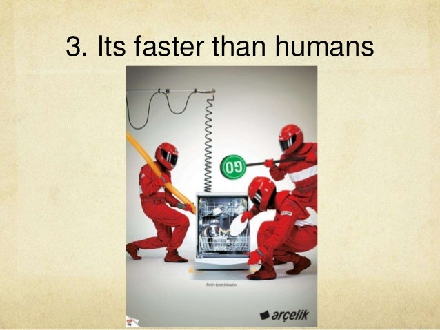 3. Its faster than humans